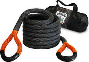 Bubba Rope 176720org Big Bubba Rope 1 1 4in X 30ft Orange Eyes