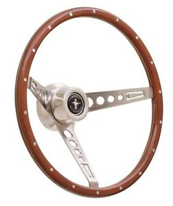 Gt Performance 35 5457 Steering Wheel Gt3 Gt Retro Fits Mustang Wood
