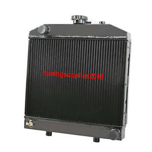 2 Row Aluminum Radiator Ford new Holland Nh 1000 1500 1600 1700 Tractor 16 1 2 w