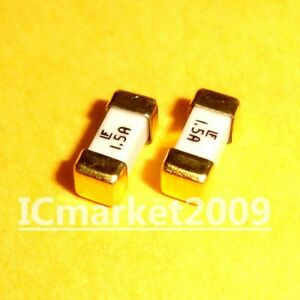 10 Pcs 1 5a 1808 Littelfuse Fast Acting Smd Fuse 1 5 Ampere Surface Mount Fuses