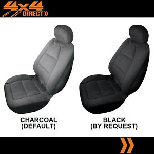 Single Padded Velour Seat Cover For Pontiac Fiero
