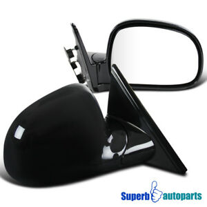 Chevy 94 98 Blazer 94 97 S10 94 98 Jimmy Manual Left Right Side Mirrors Pair