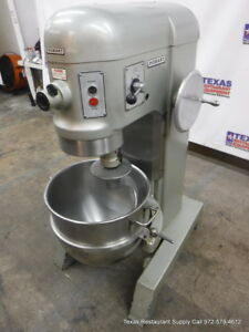 Hobart H 600 Donut Dough Mixer 60 Quart 60 Qt Bowl Hook One Phase