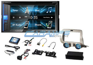New Jvc Bluetooth Car Stereo W Sirius Xm Radio Receiver Install Kit For Camaro