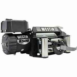 Westin 47 2100 Off Road Series 12v 9500lbs Steel Rope Winch