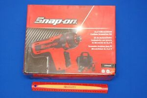 New Snap On 14 4v 1 4 Drive Hex Microlithium Cordless Screwdriver Set Cts761ao