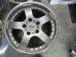 Porsche 5 Spoke Wheels Speedlines Look 17 Staggered