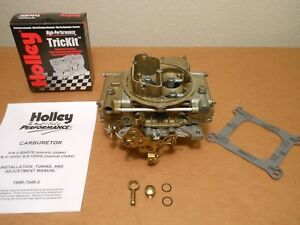 Rebuilt Holley 80457 600cfm Universal Replacement Ford Chevy 302 327 350 351 Ss