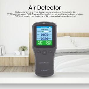 Lcd Digital Laser Formaldehyde Detector Ch2o Tvoc Pm10 Pm2 5 Air Quality Tester