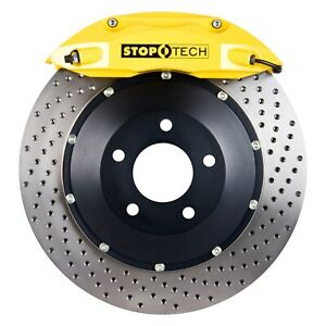 83 135 4700 82 Stoptech 00 03 Bmw M5 W Yellow St 40 Calipers 355x32mm Drilled R