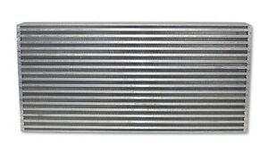 12832 Vibrant Air to air Intercooler Core Only core Size 25in W X 12in H X
