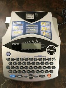 Brother P touch Pt 1950 Portable Label Maker Printer Excellent