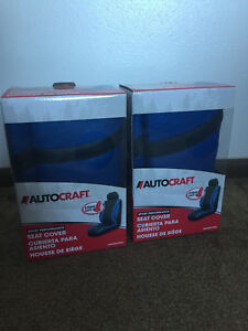 Autocraft Blue Bucket Seat Covers