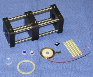 Deluxe Scanning Fabry perot Interferometer Kit For Red Lasers