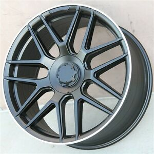 Set 4 22 Wheels Rims Mercedes Benz Gl350 Gl450 Ml350 Ml320 Ml500 Gl550 Ml420