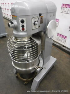 Hobart H 600t Donut Dough Mixer 60 Quart 60 Qt Bowl Dolly Hook 1 Phase