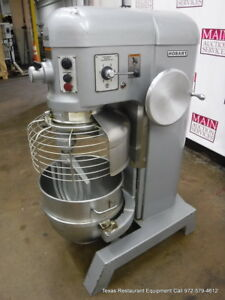 Hobart H 600 Donut Dough Mixer 60 Quart 60 Qt Bowl Paddle Hook
