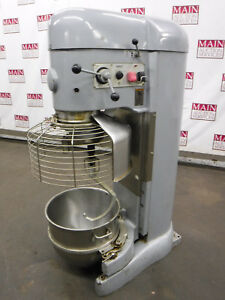 Hobart V1401 Bakery Bread Dough Mixer 140 Quart With Reducer