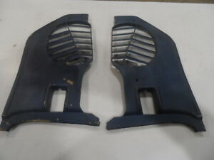 1969 69 1970 Ford Mustang Mercury Cougar Mach Xr 7 Side Kick Panels Blue Pair