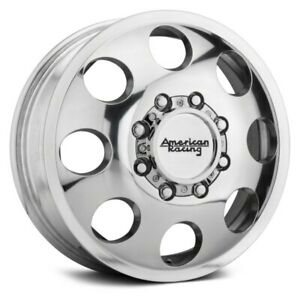 4 16 X6 Dodge Ram 8 Lug Alcoa Style Dually Polished American Racing Wheels