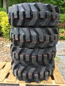 10 16 5 Foam Filled Ultra Guard Skid Steer Tires wheels rims For New Holland