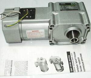 Brother Gearmotor Bf2sm15 030tg2c 1 10hp 30 1ratio 208 230v