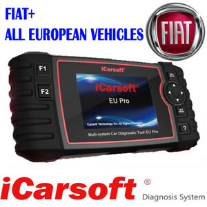 Icarsoft Eu Pro Multi system Diagnostic Tool For Fiat And All European Vehicles