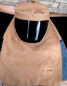 Arc Flash Hood Nomex New 65 Rating Cal cm2 7 Oz Multi layer Made With Kevlar