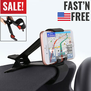 Universal Car Dashboard Clip Mount Holder Stand For Mobile Cell Phone Gps Cradle