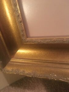 Large Heavy Gold Picture Frame