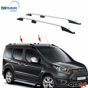 Top Roof Rack Side Rails Bars Alu For Ford Connect 2 Short Wheel Base 2014 2021