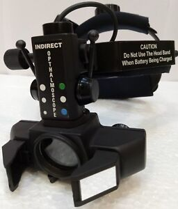 F 633k Indirect Ophthalmoscope Optometry Binocular With 20 D Lens