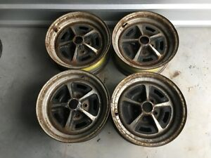 Original Chrysler Mopar Dodge Wheels Magnum 500 14 Set Of 4