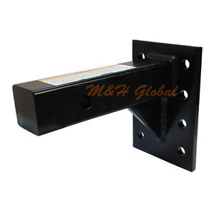 Pintle Hook Mounting Plate For 2 Receivers