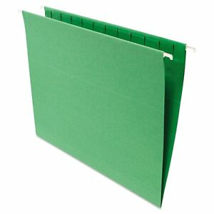 Universal One Green Hanging File Folders pack Of 2