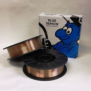Er70s 6 023 X 11lb 2 Pk Mig Steel Welding Wire Spools Blue Demon