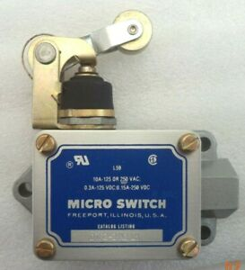 Microswitch L 59 Top Roller Limit Switch P n Dtf2 2rn2 lh