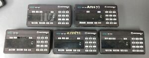Lot Of 5 Motorola Astro Spectra System 9000 Xtl5000 Radio Remote Control Head W9