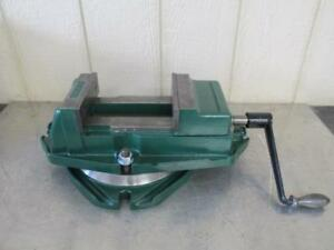 Chicago Tool Eng Palmgren 60 3077 Machinist Swivel Base Milling Vise Vice 6
