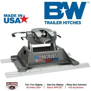 Rvk3255 B W Patriot 18k 5th Fifth Wheel Rv Trailer Hitch