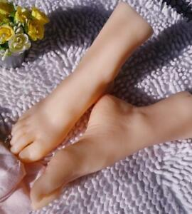 12 Years Old Girl Silicone Simulation Foot Model Display Props1pair Eur29 Zsell