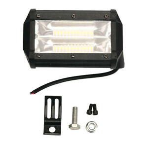72w Led Work Flood Square Spot Light 12v 24v For Off Road Truck Suv Fog Lamp