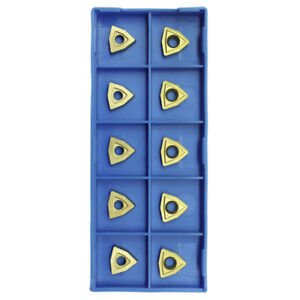 10 Pieces case Wcmt2 5 C6 Grade Carbide Inserts Tin Coated For Turning Tools