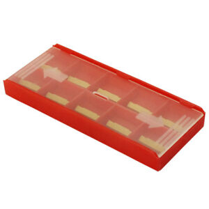 10 Pieces case Mgmn200 2mm Width Carbide Inserts Tin Coated For Grooving