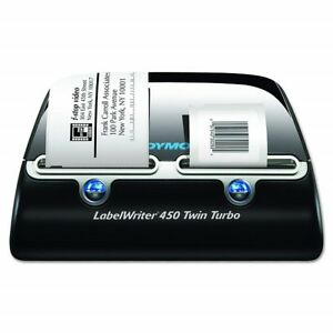 New Dymo Thermal Label Writer 450 Twin Turbo Printer 71 Labels Minute 1752266