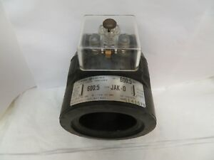 New General Electric Current Transformer 750x33g305 Ratio 600 5 Type Jak 0
