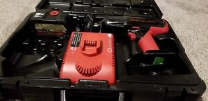 Snap on 18v Cordless Impact Ct6850 W battery Charger And Case