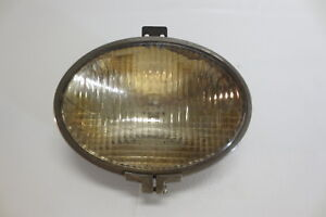 Vintage Antique S m Lamp Co Broad Way Oval Headlight Driving Fog Spot Light Lamp