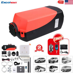 5kw Air Diesel Fuel Heater 12v Car Boat Bus Parking Heater lcd Remote Control