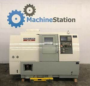Okuma Howa Act 35 Cnc Turning Center Lathe 12 Chuck Fanuc Mori Sl